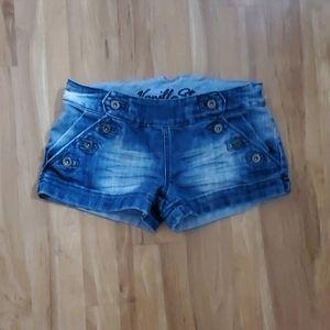 Vanilla Star Denim Short Shorts Size 9